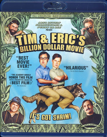 Tim and Eric's Billion Dollar Movie (Blu-ray) BLU-RAY Movie