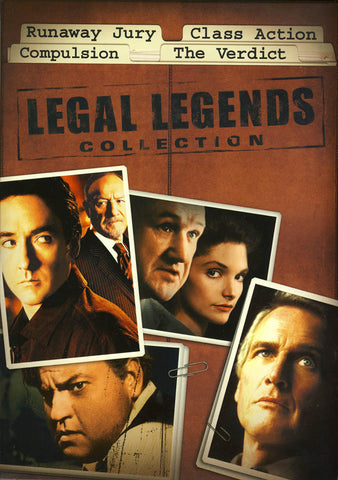 Runaway Jury / Class Action / Compulsion / The Verdict (Legal Legends Collection) (Boxset) DVD Movie