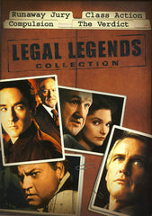 Runaway Jury / Class Action / Compulsion / The Verdict (Legal Legends Collection) (Boxset)