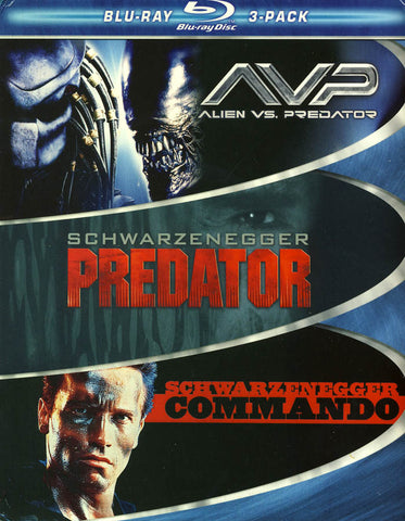 AVP Alien vs. Predator / Predator / Commando (Boxset) (Blu-ray) BLU-RAY Movie