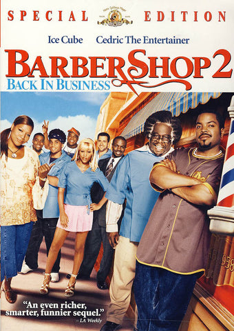 Barbershop 2: Back in Business (Special Edition) DVD Movie