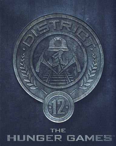 The Hunger Games (District 12 Edition Steelbook) (Blu-ray) BLU-RAY Movie