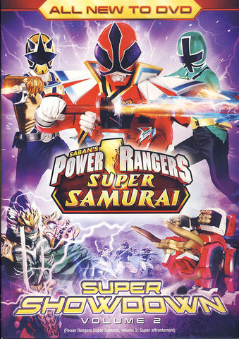 Power Rangers Super Samurai: Super Showdown Vol. 2 DVD Movie