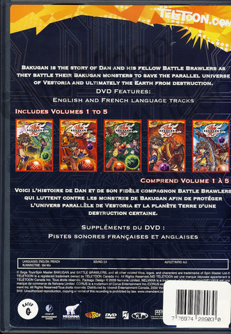Bakugan - Season 1, Vol. 1 (Bilingual)(Boxset) DVD Movie