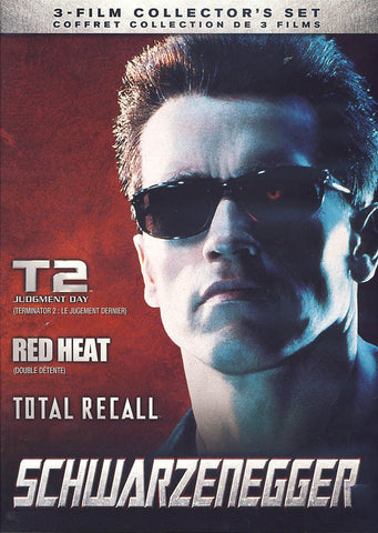 The Arnold Schwarzenegger Collection (Total Recall / Red Heat / Terminator 2: Judgment Day) DVD Movie