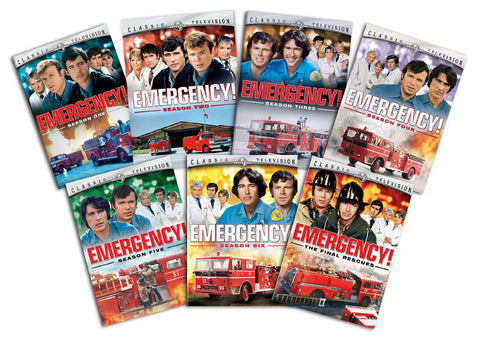 Emergency  - The Complete Series (Boxset) DVD Movie
