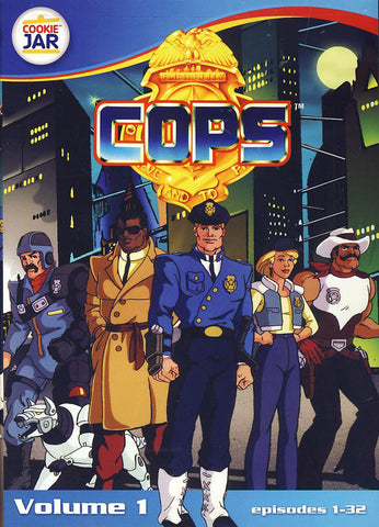 C.O.P.S. - Volume 1 - Episodes 1-32 DVD Movie