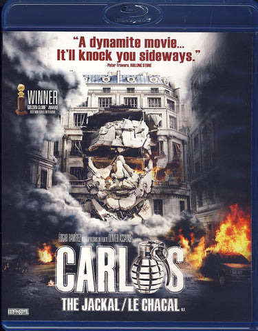 Carlos theJackal (Mini-Series)(Bilingual)(Blu-ray) BLU-RAY Movie