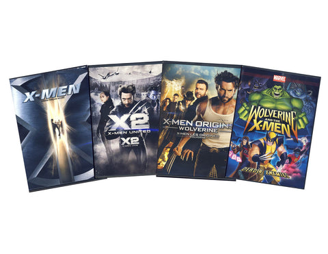 Wolverine and the X-Men 4-Pack (Boxset) DVD Movie