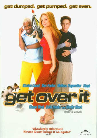 Get Over it ! (Bilingual) (White Cover) DVD Movie
