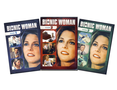 The Bionic Woman - The Complete Series - Season 1, 2, 3 (Boxset) DVD Movie