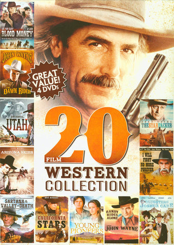20 Movie Western Collection Volume 3 (Value Movie Collection) (Boxset) DVD Movie