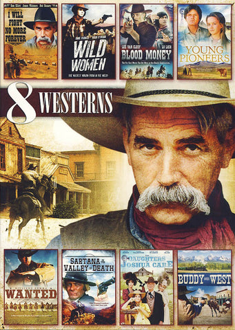8 Movie Western Pack Volume 4 (Value Movie COllection) DVD Movie