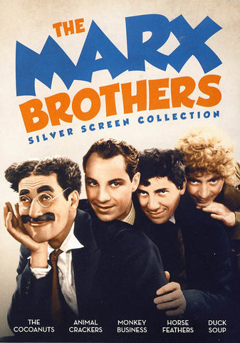 The Marx Brothers - Silver Screen Collection DVD Movie