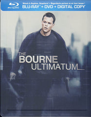 The Bourne Ultimatum - Ltd. Edition Steelbook (Blu-ray+DVD)(Blu-ray)