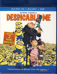 Despicable Me (3D Blu-ray+Blu-ray+DVD)(Blu-ray)