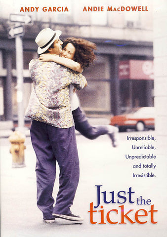 Just the Ticket (Admit One backcover) DVD Movie