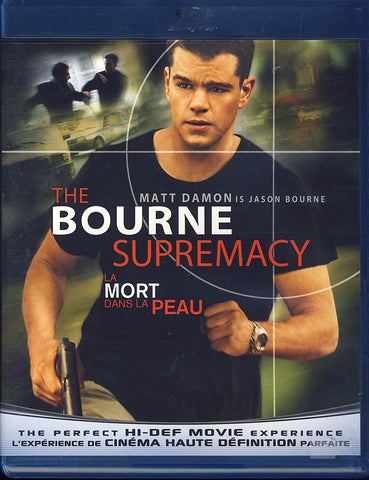 The Bourne Supremacy (Bilingual)(Blu-ray) BLU-RAY Movie
