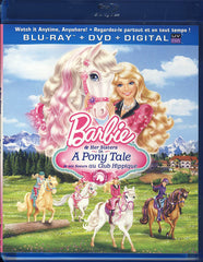 Barbie & Her Sisters in A Pony Tale(Bilingual)(Blu-ray+DVD+Digital)(Blu-ray)