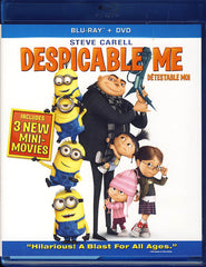 Despicable Me (Blu-ray+DVD) (Bilingual) (Blu-ray)