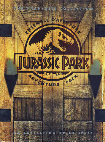 Jurassic Park Adventure Pack Trilogy (Bilingual)(Boxset) DVD Movie