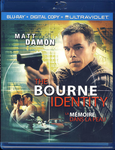 The Bourne Identity (Blu-ray+Digital Copy+Ultraviolet)(Bilingual)(Blu-ray) BLU-RAY Movie