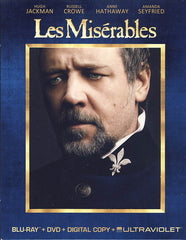 Les Miserables Deluxe Edition (Blu-ray+DVD)(Blu-ray)(Boxset)