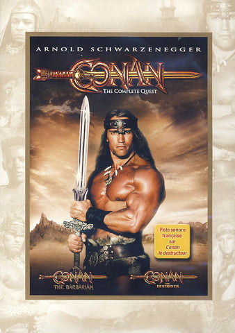 Conan: The Complete Quest DVD Movie