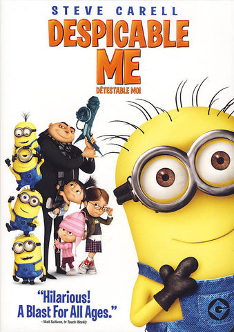 Despicable Me (Bilingual) DVD Movie