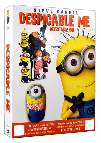 Despicable Me (with Summer Inflatable Minion)(Boxset)(Value Gift Set)(Boxset) DVD Movie