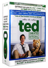 Ted (Blu-ray+DVD)(With Talking Bottle Opener)(Blu-ray)(Boxset)(Value Gift Set)
