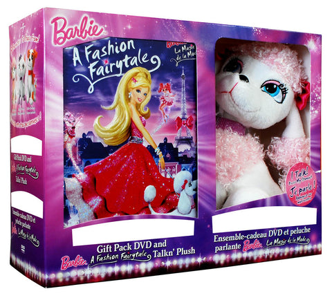 Barbie: A Fashion Fairytale (with Talkin' Plush)(Boxset)(Value Gift Set) DVD Movie