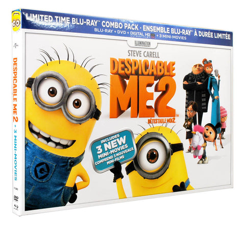 Despicable Me 2(Ltd. Edition)(Blu-ray+DVD)(Boxset)(Blu-ray)(Value Gift Set) BLU-RAY Movie