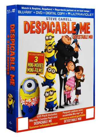 Despicable Me (with Inflatable Minion)(Blu-ray+DVD)(Boxset)(Blu-ray)(Value Gift Set) BLU-RAY Movie
