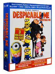 Despicable Me (with Inflatable Minion)(Blu-ray+DVD)(Boxset)(Blu-ray)(Value Gift Set)