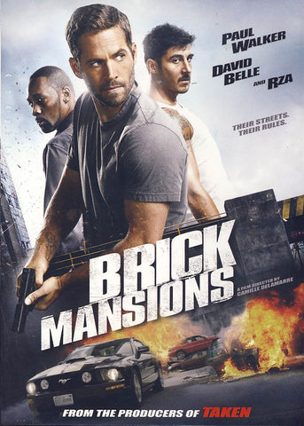 Brick Mansions DVD Movie