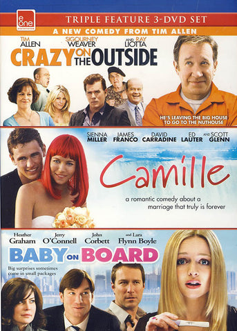 Crazy on the Outside/Camille/Baby on Board (triple Feature)(Bilingual) DVD Movie