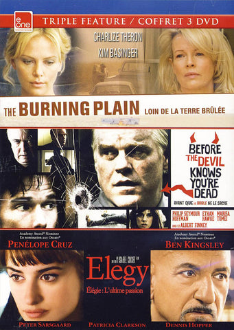 The Burning Plain/Before the Devil Knows You're Dead/Elegy (Bilingual) DVD Movie