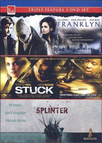 Franklyn / Stuck / Splinter (Triple Feature) DVD Movie