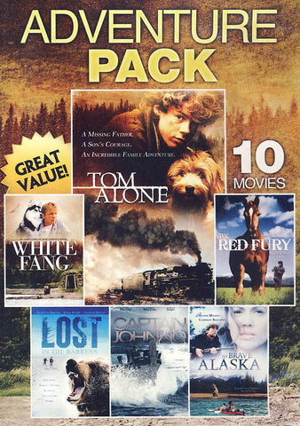 10-Movie Family Adventure Pack (Value Movie Collection) DVD Movie