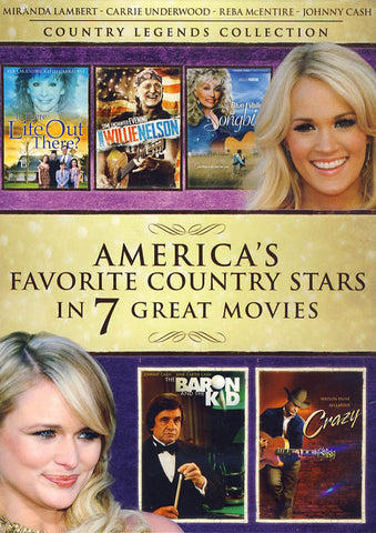 America's Favorite Country Stars in 7 Great Movies (Value Movie Collection) DVD Movie