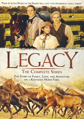 Legacy: The Complete Series DVD Movie