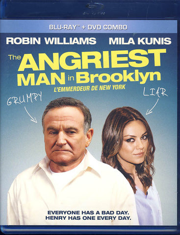 The Angriest Man in Brooklyn (Blu-ray+DVD)(Bilingual)(Blu-ray) BLU-RAY Movie