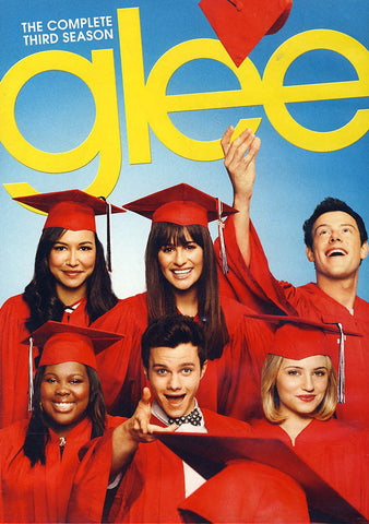 Glee - The Complete Third Season DVD Movie
