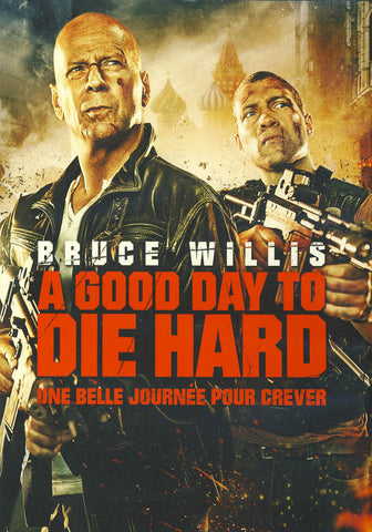 A Good Day to Die Hard (Bilingual) DVD Movie