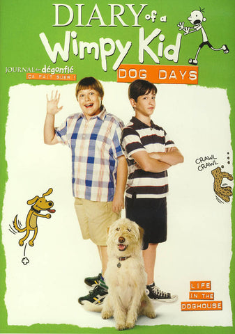 Diary of a Wimpy Kid - Dog Days (Bilingual) DVD Movie