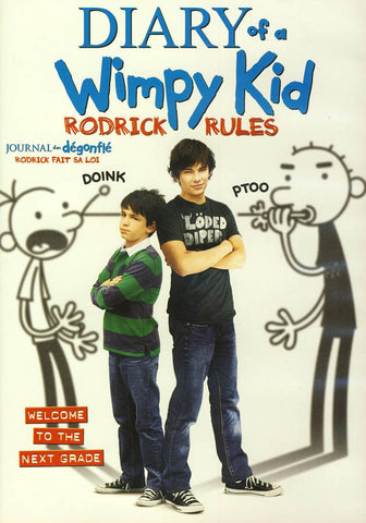 Diary of a Wimpy Kid - Rodrick Rules (Bilingual) DVD Movie