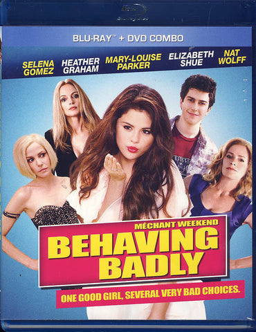Behaving Badly (Bilingual) (Bluray + DVD) (Blu-ray) BLU-RAY Movie