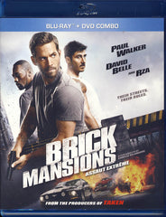 Brick Mansions (Bilingual) (Bluray + DVD) (Blu-ray)