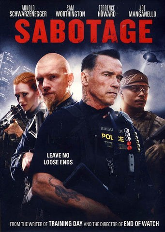Sabotage (Bilingual) DVD Movie